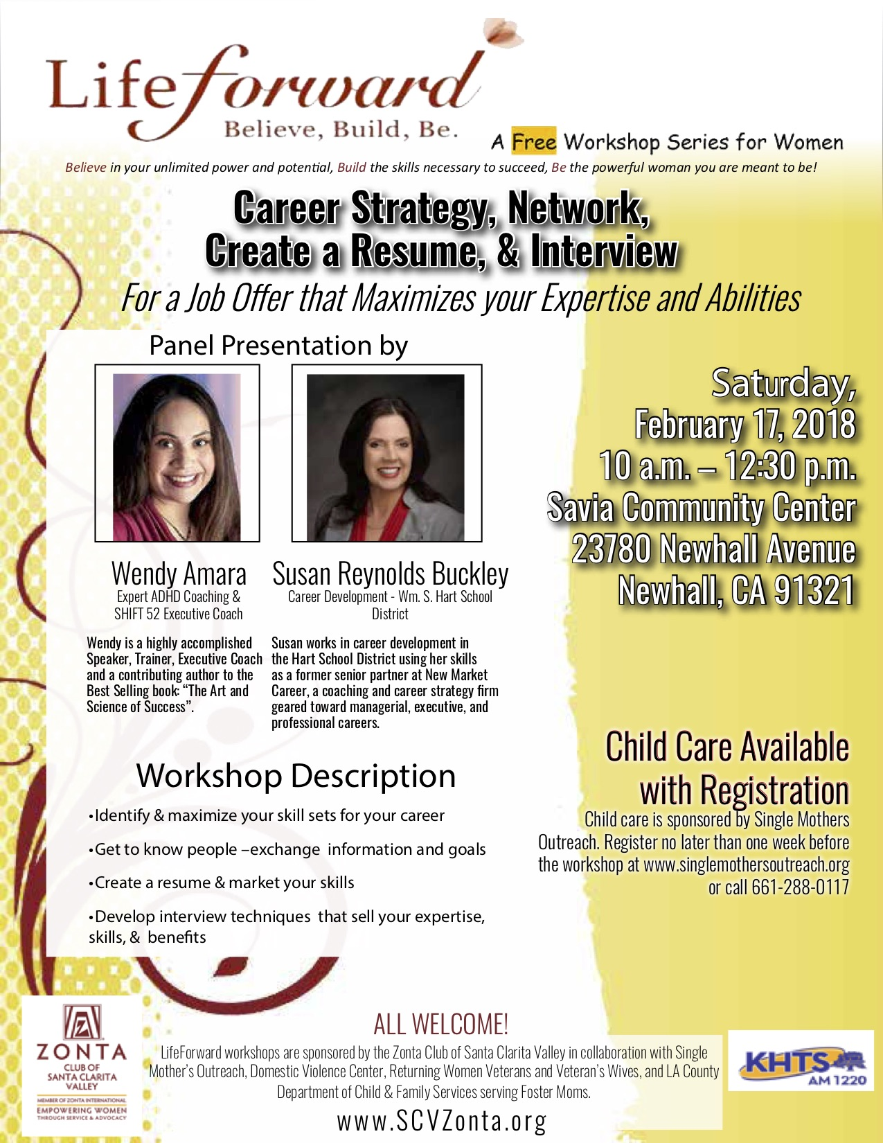 FEB 2018 LifeForward -Career Strategy, Networking, Resume & Interview