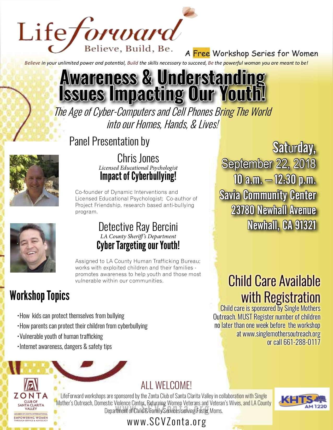 SEP 2018 Awareness & Understand Issues (rev 9-2-18)
