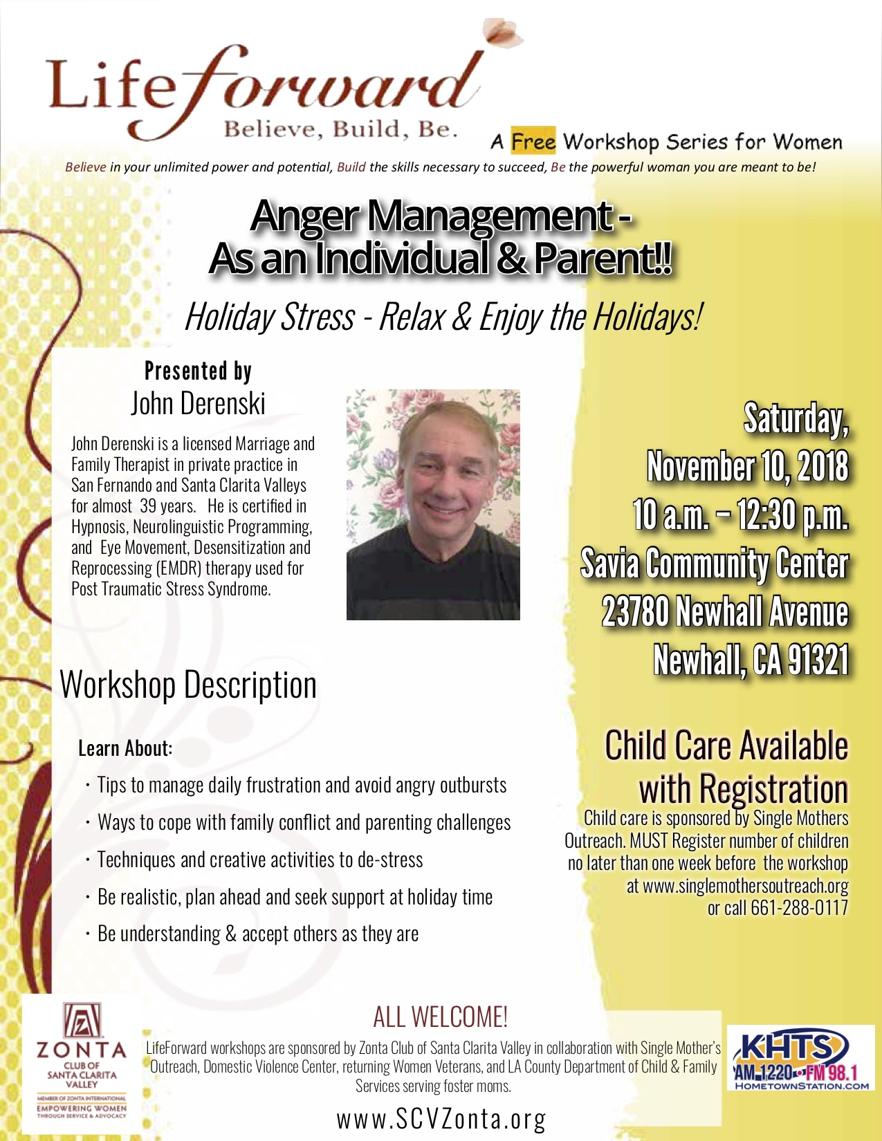 NOV 10 Anger Mgmt-Holiday Stress