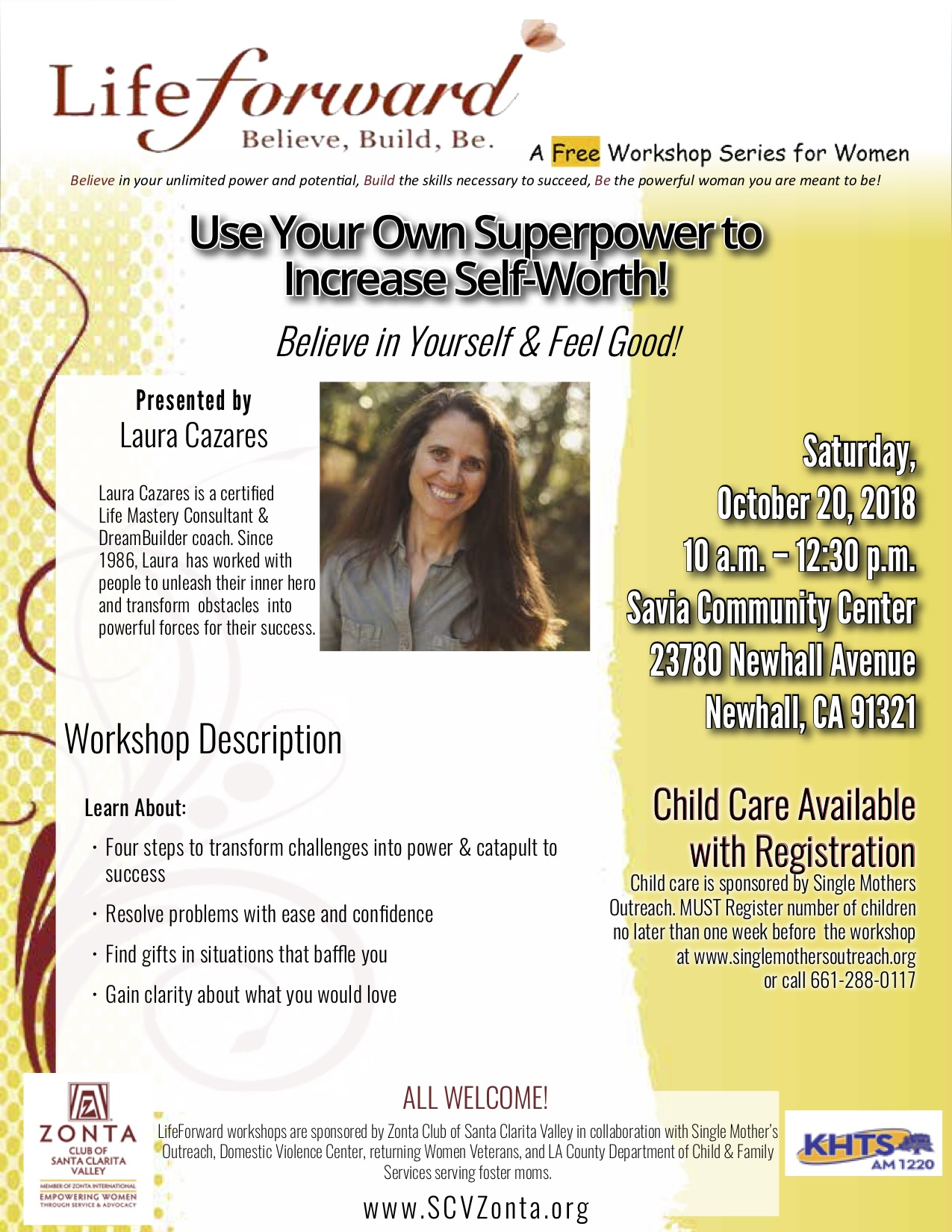 OCT 2018 Use Your Superpower to Increase Self-Worth