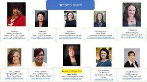 2018-2020 district 9 board