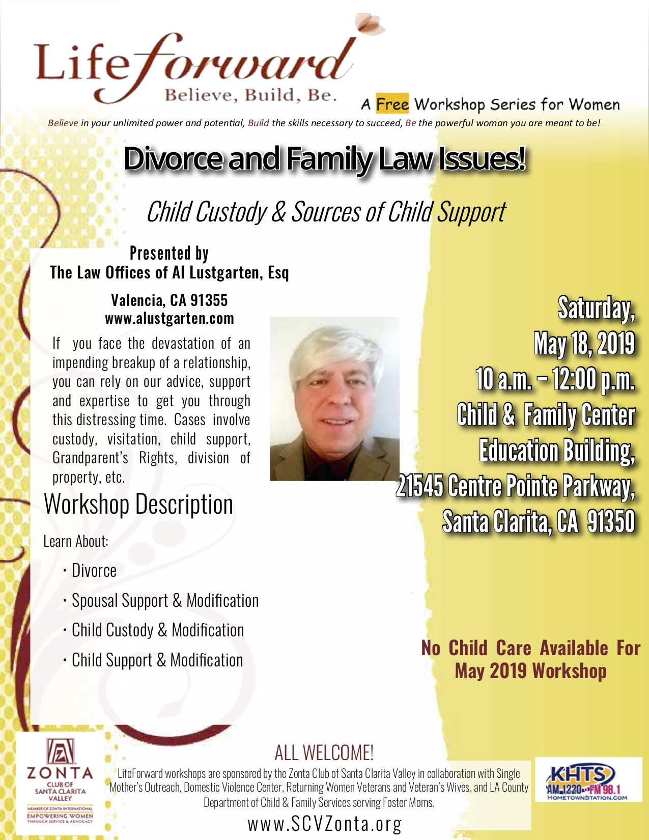 MAY 2019 - Divorce & Family Law - Child Support