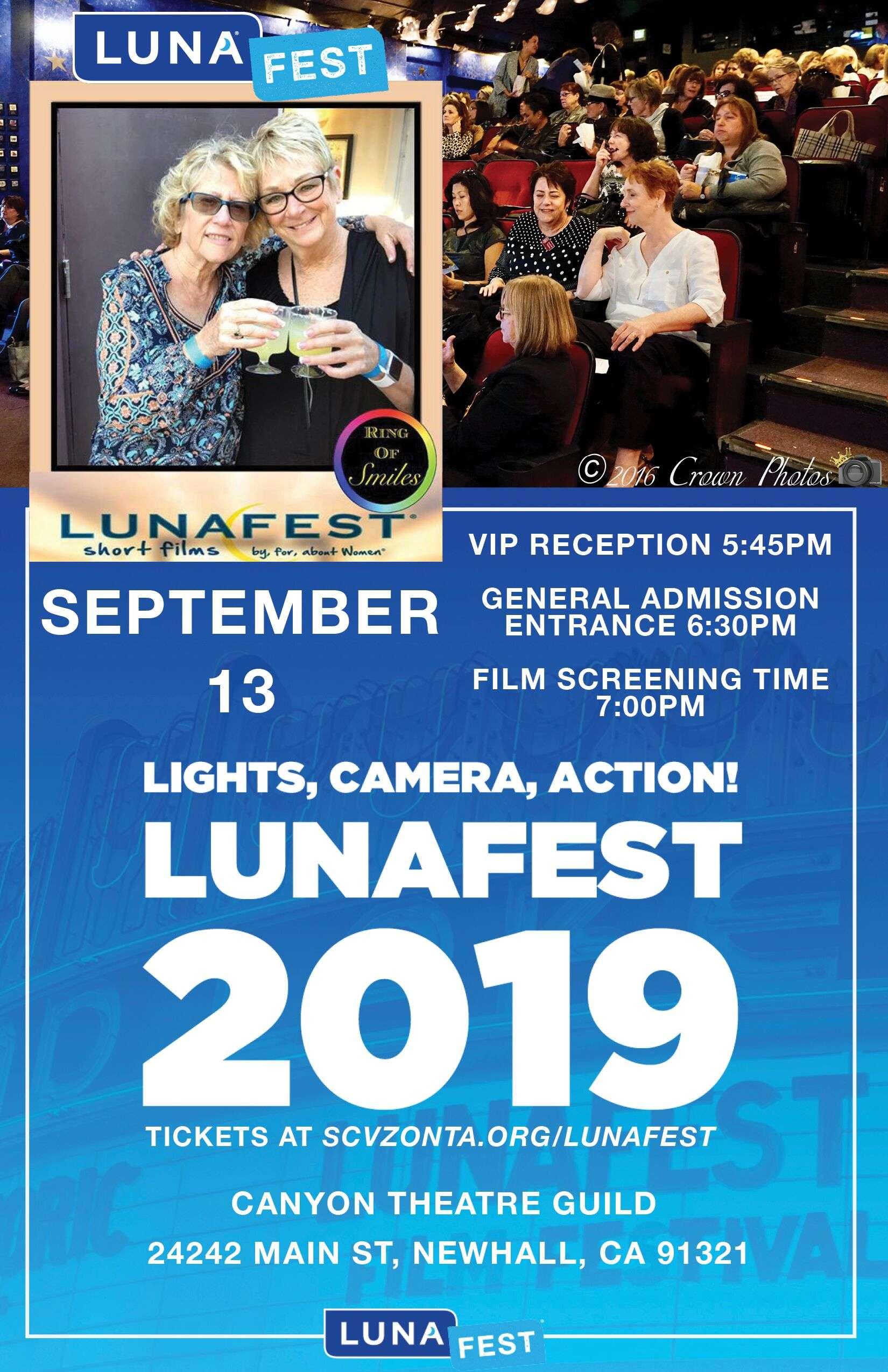 lunafest flyer 2019 april version