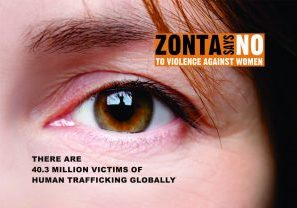 16 Days - Human Trafficking Postcard Front
